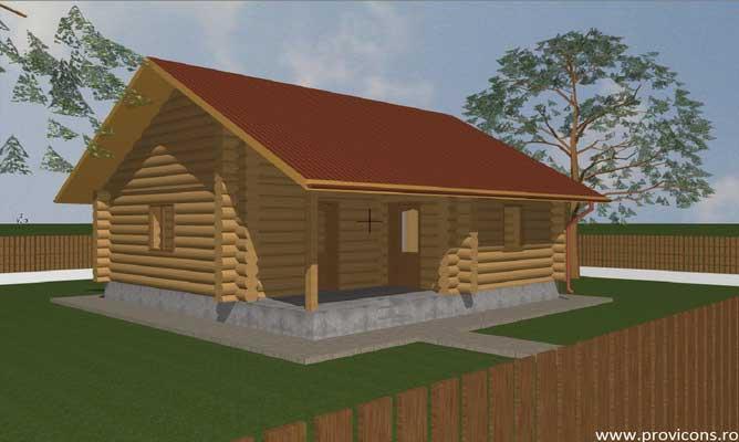 Proiecte case din lemn rotund gratis for Case de lemn rotund
