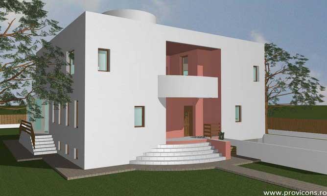 Arhitectura case moderne gratis for Casa moderna romania