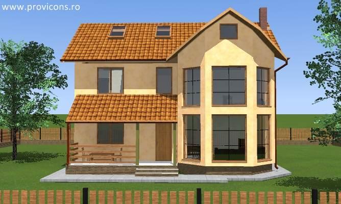 Proiecte case cu etaj si terasa gratis for Proiecte case cu etaj si terasa