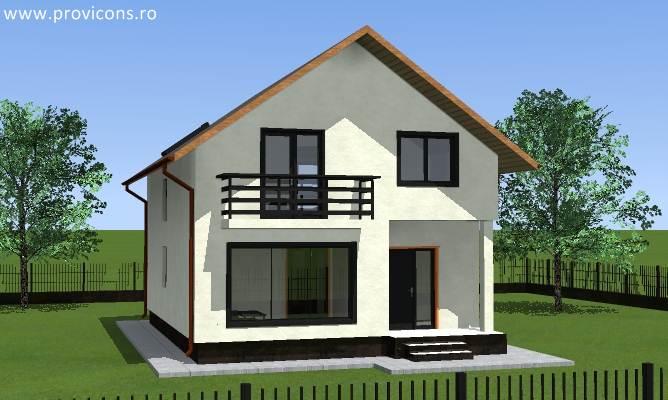 Marvelous Perspectiva1 Oferta Proiect Casa Cu Mansarda Efraim2 ...