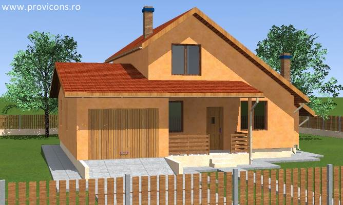 Proiecte case cu mansarda si garaj gratis for Proiecte case cu garaj si mansarda
