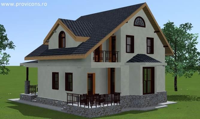 Proiecte case mici cu mansarda si ieftine gratis for Proiecte case mici cu mansarda gratis